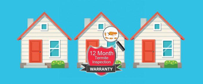 termite inspection warranty