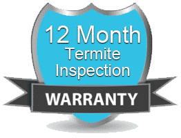 Termite Inspection with a 12 month warranty