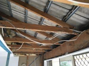termites damages