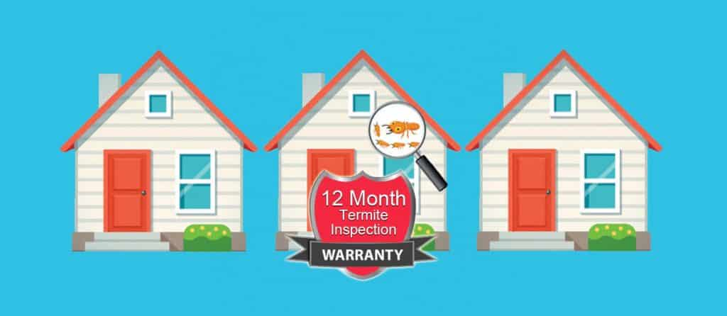Termite Inspections So thorough we offer a 12 Month Warranty